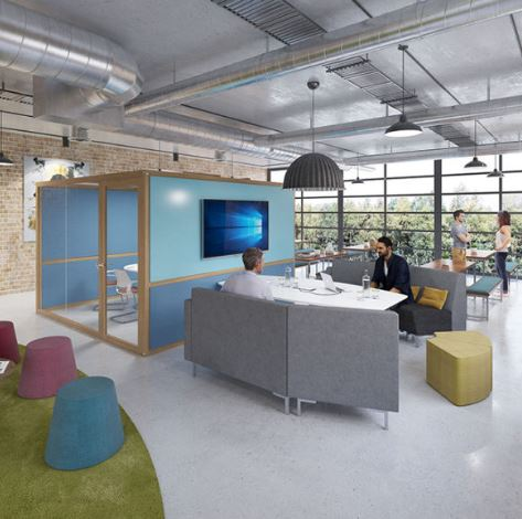 How to save your Open Plan Office with HushHubs!! - Ronnie Moore