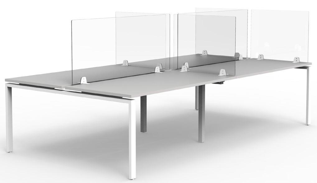 Protective Plexiglass Desk Screen - Ronnie Moore